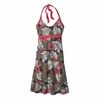 Patagonia Womens Iliana Halter Dress Best Fronde: Forge Grey
