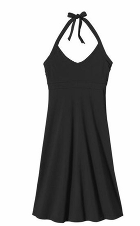 Patagonia Womens Iliana Halter Dress Black (Spring 2014)