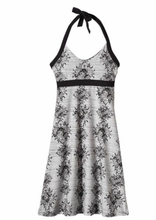 Patagonia Womens Iliana Halter Dress Mandala Stamp: Feather Grey (Spring 2014)