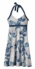 Patagonia Womens Iliana Halter Dress Palm Spring Dress: Leaden Blue (Spring 2014)