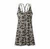 Patagonia Womens Latticeback Dress Neo Tropics Petite: Feather Grey