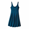 Patagonia Womens Laurel Ridge Dress Big Sur Blue