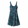 Patagonia Womens Laurel Ridge Dress Dropdot: Big Sur Blue