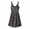 Patagonia Womens Laurel Ridge Dress Dropdot: Ink Black