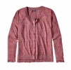 Patagonia Womens Lightweight Linen Cardigan Craft Pink