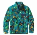 Patagonia Womens Lightweight Snychilla Snap-T Pullover Jitterbug: Tobago Blue (Spring 2014)
