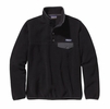 Patagonia Womens Lightweight Synchilla Snap-T Fleece Pullover Black