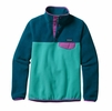 Patagonia Womens Lightweight Synchilla Snap-T Fleece Pullover Howling Turquoise