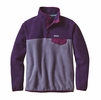 Patagonia Womens Lightweight Synchilla Snap-T Fleece Pullover Lupine