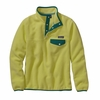 Patagonia Womens Lightweight Synchilla Snap-T Fleece Pullover Mayan Yellow