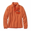Patagonia Womens Lightweight Synchilla Snap-T Fleece Pullover Peach Sherbet
