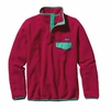 Patagonia Womens Lightweight Synchilla Snap-T Fleece Pullover Portofino Pink