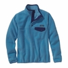 Patagonia Womens Lightweight Synchilla Snap-T Fleece Pullover Skipper Blue