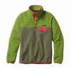 Patagonia Womens Lightweight Synchilla Snap-T Fleece Pullover Spanish Moss
