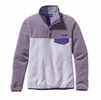 Patagonia Womens Lightweight Synchilla Snap-T Fleece Pullover Tundra Purple