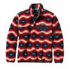 Patagonia Womens Lightweight Synchilla Snap-T Fleece Pullover Wild Desert: Classic Red