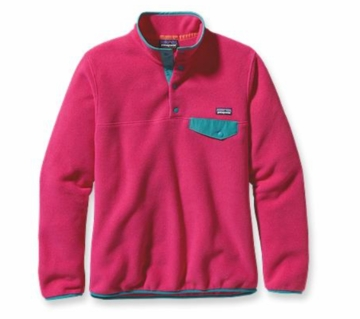 Patagonia Womens Lightweight Synchilla Snap-T Pullover Radiant Magenta (Spring 2014)