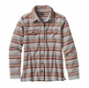 Patagonia Womens Long-Sleeved Fjord Flannel Shirt Arborist: Drifter Grey
