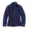 Patagonia Womens Long-Sleeved Fjord Flannel Shirt Potter: Oxblood Red