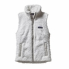Patagonia Womens Los Gatos Fleece Vest Birch White Small