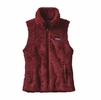 Patagonia Womens Los Gatos Fleece Vest Drumfire Red