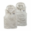 Patagonia Womens Los Gatos Hooded Fleece Vest Birch White