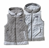 Patagonia Womens Los Gatos Hooded Fleece Vest Feather Grey