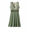 Patagonia Womens Margot Dress Back Roads: Camp Green
