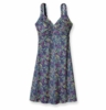 Patagonia Womens Minette Dress Big Congo: Glass Blue