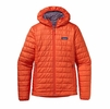 Patagonia Womens Nano Puff Hoody Monarch Orange