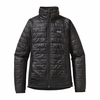 Patagonia Womens Nano Puff Hybrid Jacket Black (Autumn 2014)