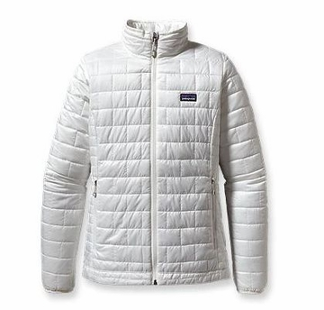 Patagonia Womens Nano Puff Jacket Birch White (Spring 2014)