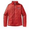 Patagonia Womens Nano Puff Jacket Cochineal Red