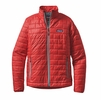 Patagonia Womens Nano Puff Jacket French Red