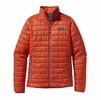 Patagonia Womens Nano Puff Jacket Monarch Orange