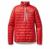 Patagonia Womens Nano Puff Pullover Cochineal Red