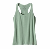 Patagonia Womens Nine Trails Tank Gypsum Green
