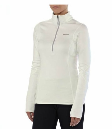 Patagonia Womens Piton Pullover Birch White with Pale Khaki (Autumn 2013)