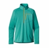 Patagonia Womens R1 Fleece Pullover Howling Turquoise
