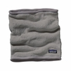 Patagonia Womens Re-Tool Fleece Neck Gaiter Tailored Grey/ Nickel X-Dye