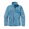Patagonia Womens Re-Tool Snap-T Fleece Pullover Dusk Blue: Skipper Blue X-Dye