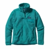 Patagonia Womens Re-Tool Snap-T Fleece Pullover Epic Blue w/ Epic Blue X-Dye