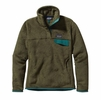 Patagonia Womens Re-Tool Snap-T Fleece Pullover Fatigue Green: Urban Green X-Dye