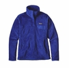 Patagonia Womens Re-Tool Snap-T Fleece Pullover Harvest Moon Blue w/ Harvest Moon Blue X-Dye