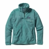 Patagonia Womens Re-Tool Snap-T Fleece Pullover Mogul Blue/ Mogul Blue X-Dye