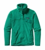 Patagonia Womens Re-Tool Snap-T Fleece Pullover Nettle Green: Emerald X-Dye