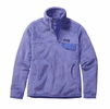 Patagonia Womens Re-Tool Snap-T Fleece Pullover Poly Purple: Violet Blue X-Dye