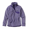 Patagonia Womens Re-Tool Snap-T Fleece Pullover Tundra Purple: Concord Purple X-Dye