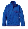 Patagonia Womens Re-Tool Snap-T Pullover Andes Blue: Cobalt Blue X-Dye