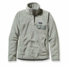 Patagonia Womens Re-Tool Snap-T Pullover Arctic Mint: Verdigris X-Dye